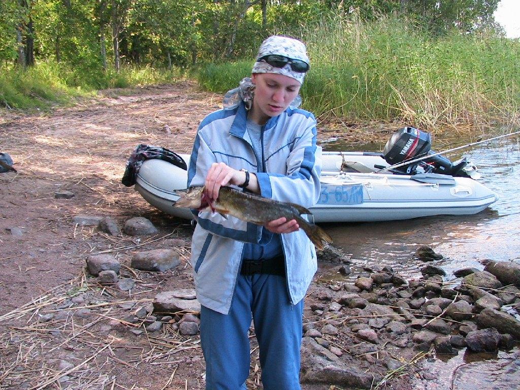 рыбалка вуокса май